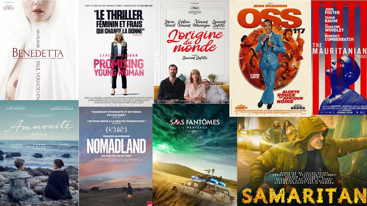 Top ATTENTES Cinéma 2021 : «22 Vlà 2021 ! » 22 Films à voir sur Grand Ecran !